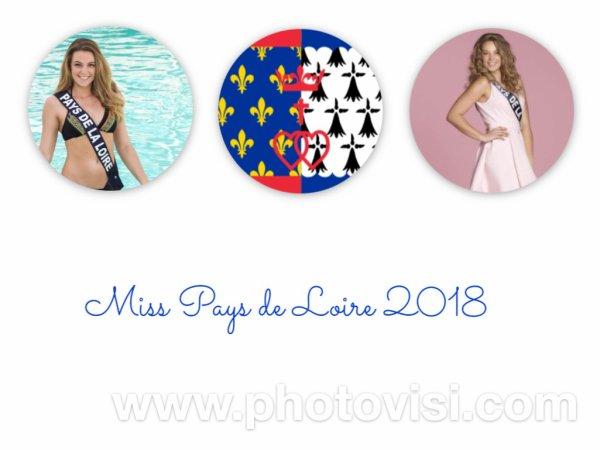 Miss Pays de Loire 2018 - Diane Le Roux