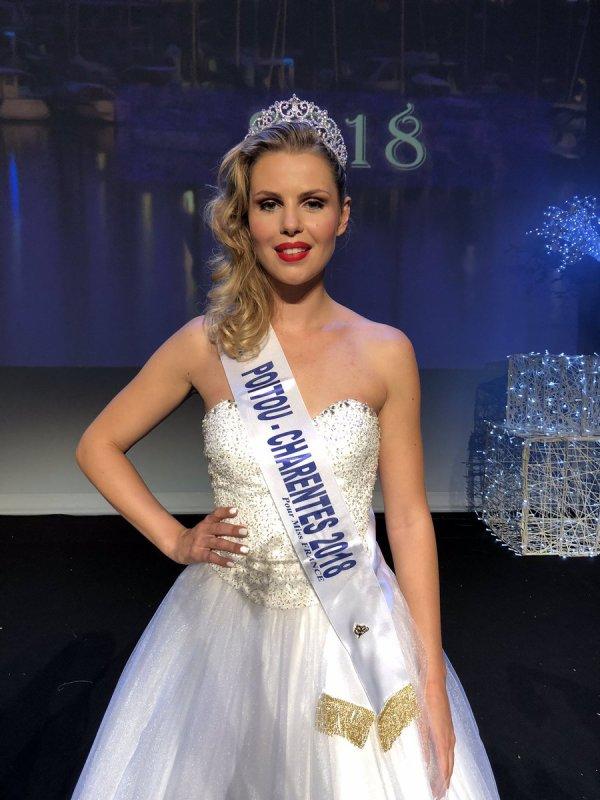 Miss Poitou Charentes 2018 - Marion Sokolik