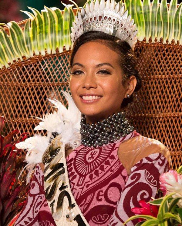 Miss Tahiti 2018 - Vaimalama Chaves