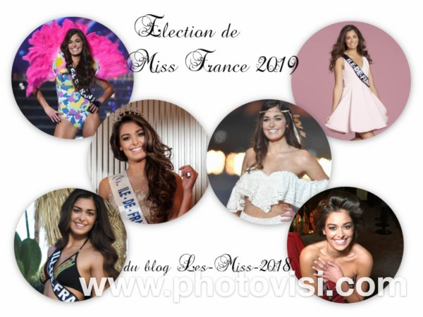 Élection de Miss France 2019 du blog