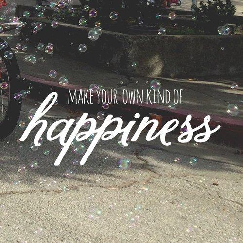 Le bonheur ne s'acquiert pas