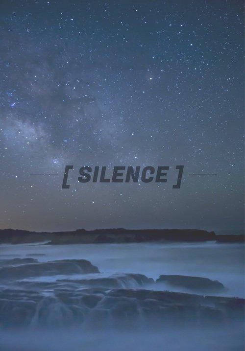 Le silence n'est un