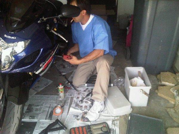 ma 2ème moto