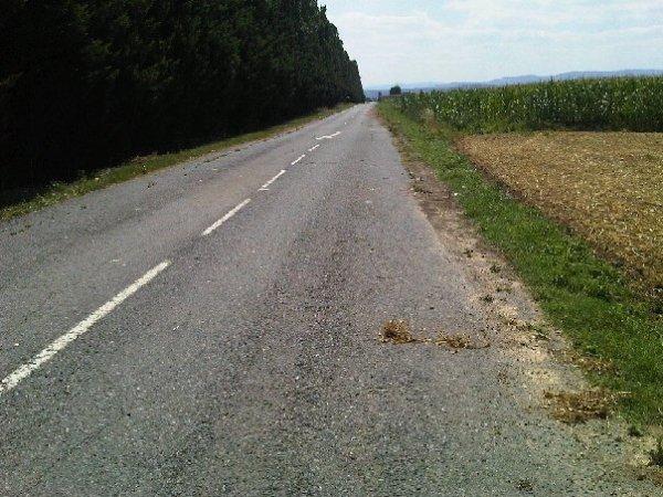 route fermé