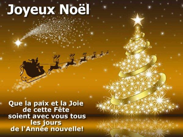 dimanche 24 décembre  Joyeux Noël