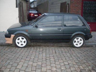 Toyota Starlet 1989    (Août 2010)