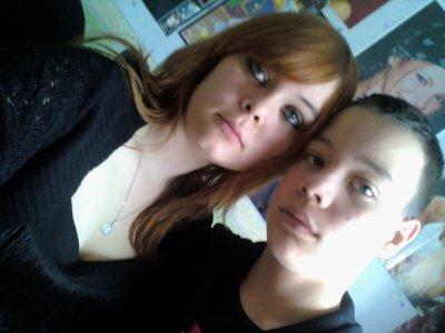 Ma soeur Ophélie et moi. (l)