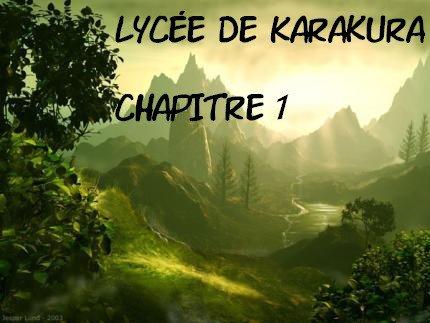 Lycée de Karakura: Chapitre 1 / People are strange