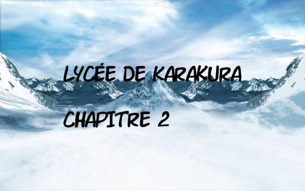 Lycée de Karakura: Chapitre 2 / Voice and words