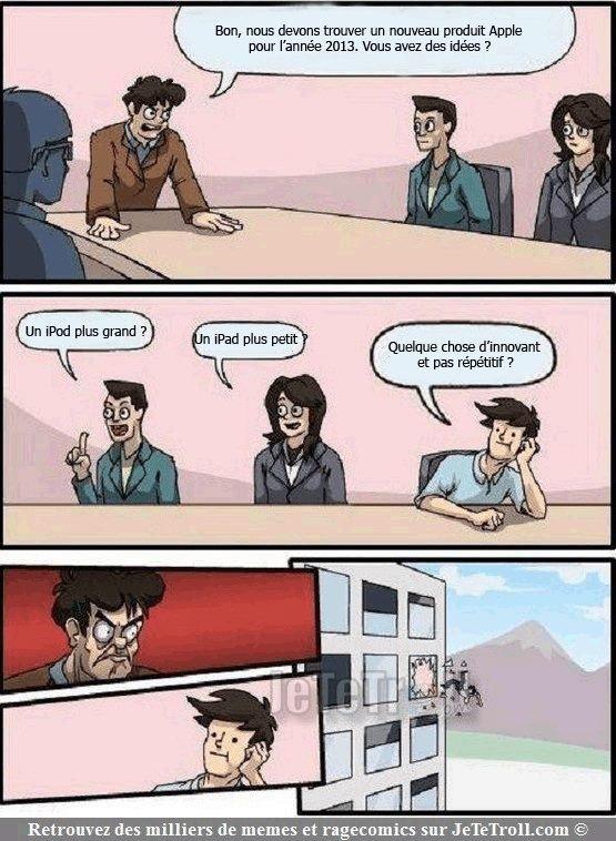 Steve Jobs doit s'en retourner dans sa tombe...