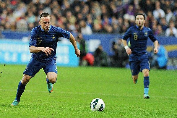 La Star française du football Franck Ribéry