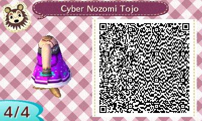 Motif Pro: Nozomi Tojo (Cyber Dress)