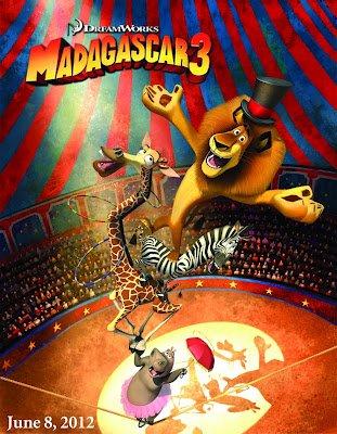 Rubrique Films. Madagascar 3, Bon baisers d'Europe