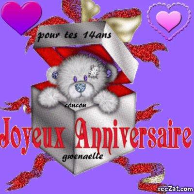 Bon Anniversaire Pour Tes 14ans Blog De F D B S G
