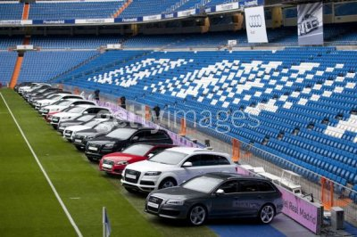 real madrid cars