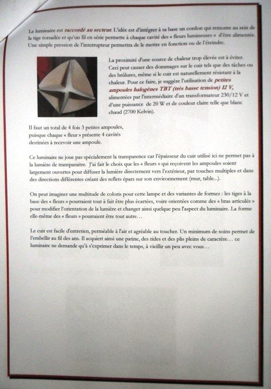 Techniques et matériaux de design - création d'un luminaire