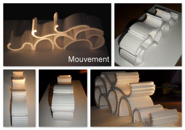 Maquette d'étude - Mouvement