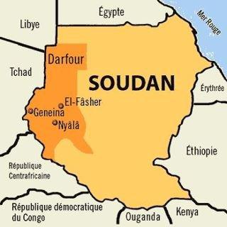 Où se trouve le Darfour??