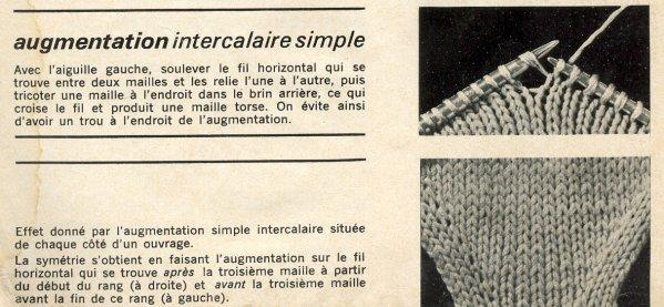 tricot augmentation