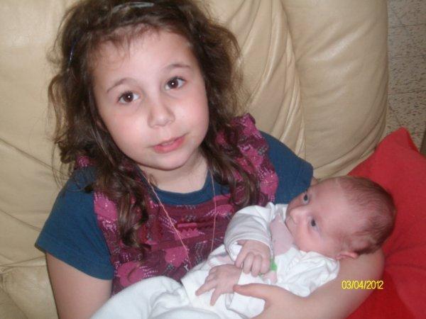 ma petite soeur anais avec mon fils zaya