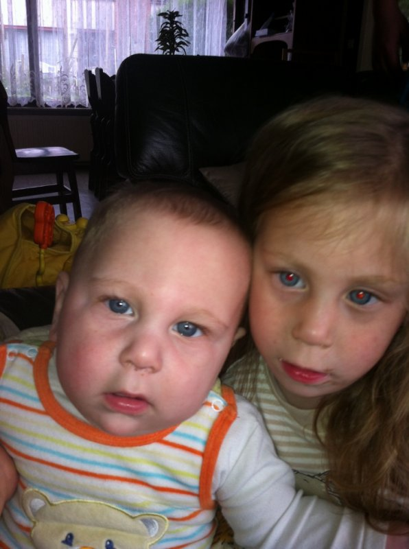 mes enfants mayssa et zaya alfredo