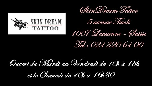 (attente de confirmation) SkinDream Tattoo (Suisse)