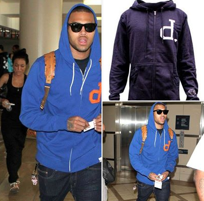 Chris brown un grand fan de Diamond supply Co