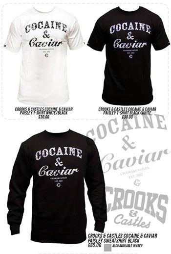 Cocaine and caviar de retour