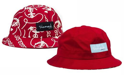 LES NOUVEAUX BOB DIAMOND SUPPLY CO REVERSIBLE