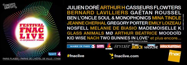Festival Fnac live