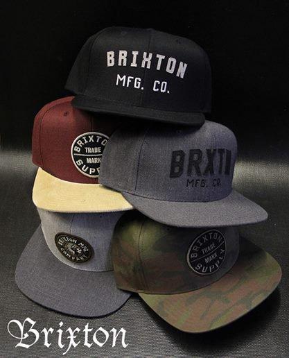 Les casquettes Brixton