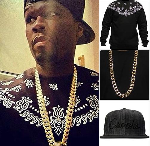 #LOOKDESTAR avec 50 Cent