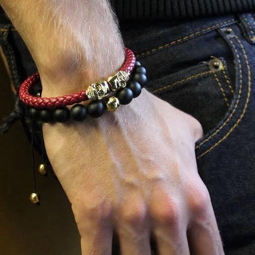 northskull avec Main de Fatma en Bracelet