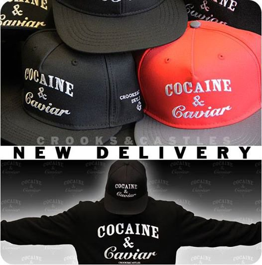 Enfin les casquette cocaine and caviar sont de retour