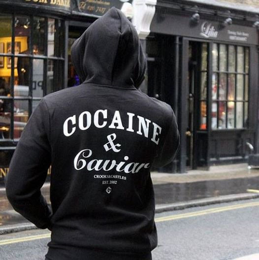 Crooks and castles et son celebre cocaine and caviar