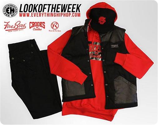 #LOOKDELASEMAINE avec CrooksnCastles, 5BORO NYC et Rivet De Cru Jeans.