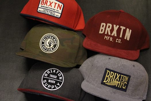 Les casquettes Brixton collection 2014