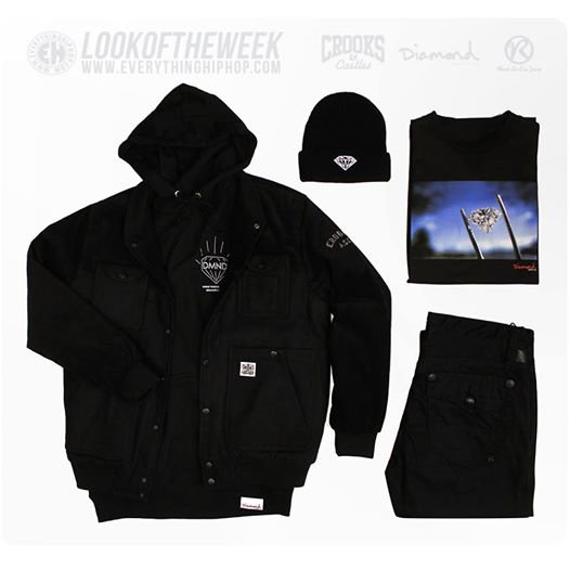 LOOKDELASEMAINE avec CrooksnCastles and Diamond Supply Co