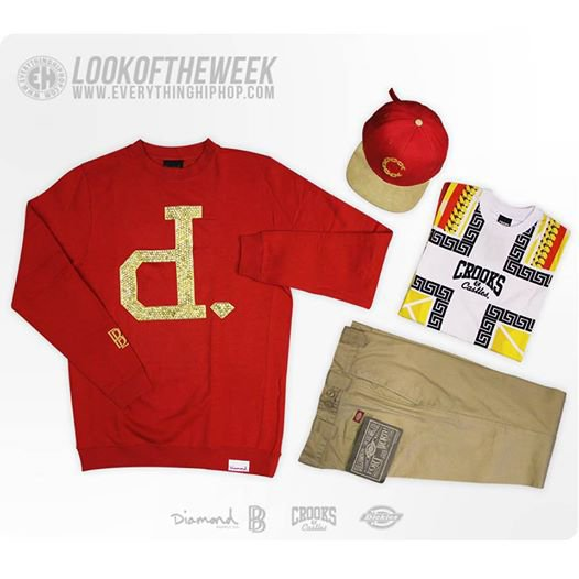 LOOKDELASEMAINE avec Diamond Supply Co, Dickies, CrooksnCastles.