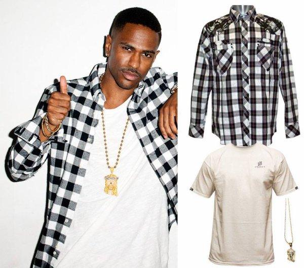 Adopte le style de Bigsean avec la chemise en carreaux