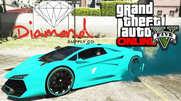 Diamond Supply dans GTA!