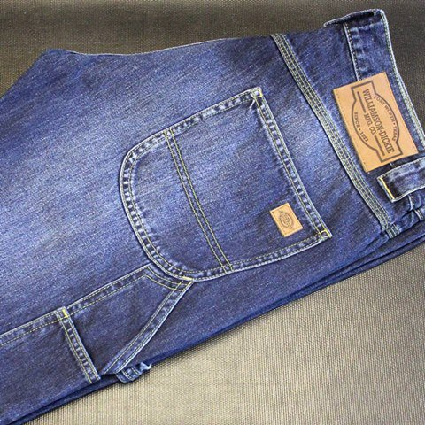 Dickies Kentucky Traditional Carpenter Jean Stonewash bleu disponible