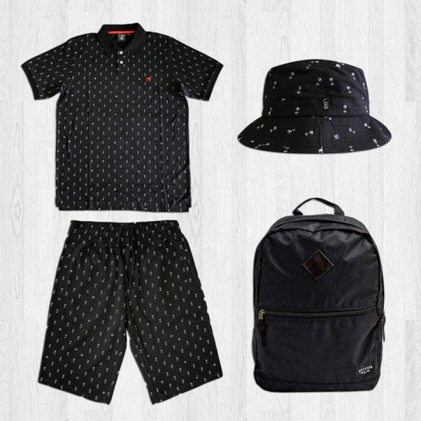 Look streetwear de la semaine avec LRG et Brixton