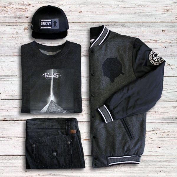 Look streetwear de la semaine tout en nuances de gris