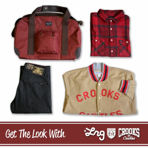Pur look streetwear de la semaine avec LRG, Crooks and Castles, Brixton, Dickies