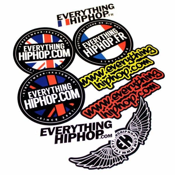 Nouveaux Stickers à coller partout!
