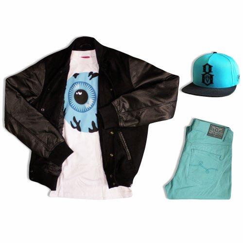 Look swag de la semaine: on ose le turquoise!