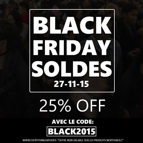 -25% sur tes fringues streetwear pour BLACK FRIDAY