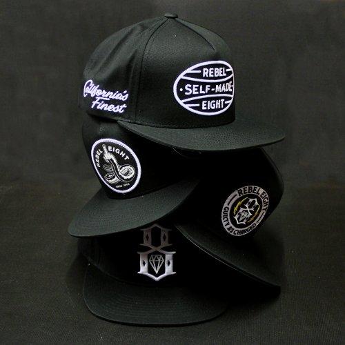 Le meilleur des casquettes REBEL8 sur Everythinghiphop.fr