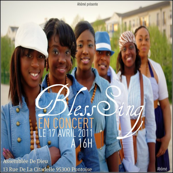 CONCERT BLESSiNG A NE PAS RATER